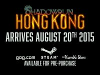 Shadowrun Hong Kong уже скоро